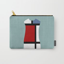 Fashion Designer Icons: Mondrian Dress Carry-All Pouch