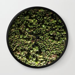 Ivy Leagues. Fashion Textures Wall Clock