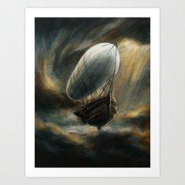 Flight to Neverland Art Print