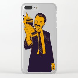 Angry Begbie Clear iPhone Case