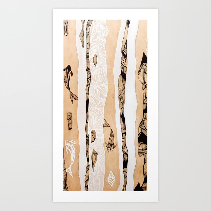 Islands In The Stream Art Print