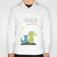 le petit prince Hoodies featuring LE PETIT PRINCE -the little prince- by Chara Anagnostopoulou