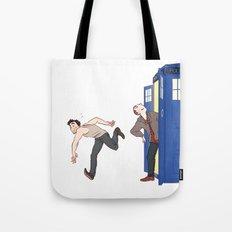 tardis-sick Tote Bag