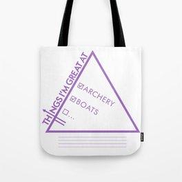 Hawkguy Tote Bag