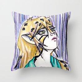 Servalia Throw Pillow