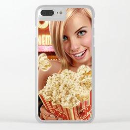 CINEMA POP Clear iPhone Case