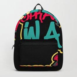 Graffiti Spray Them Walls Backpack