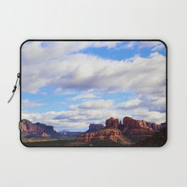 Cathedral Rock BIG SKY in Arizona by Reay of Light Laptop Sleeve