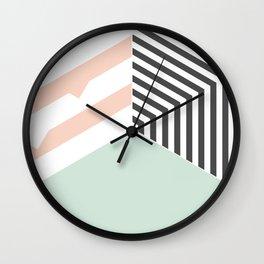 Mint Room #society6 #decor #buyart Wall Clock