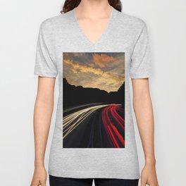 Highway to Adventure Unisex V-Neck