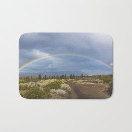 Rainbow Mountain Bath Mat