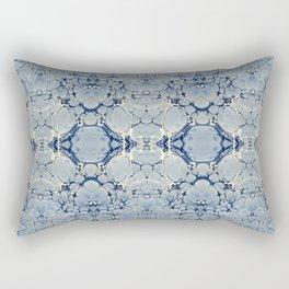 Winter Blue Rectangular Pillow
