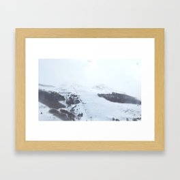 After the snow comes the sun Framed Art Print