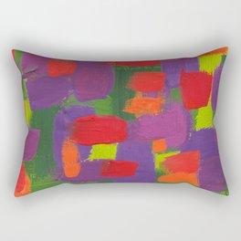 ABSTRACT COLOR 5 Rectangular Pillow