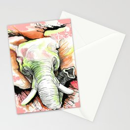 ELEFANTE - THE HUNT Stationery Cards