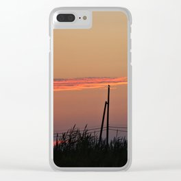 With my Wings comes Freedom Clear iPhone Case