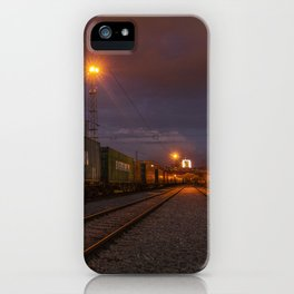 Night train iPhone Case