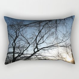 End of Another Day Rectangular Pillow