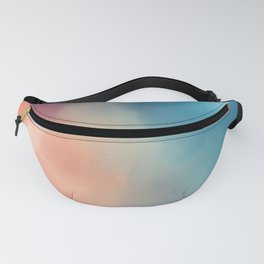 Storm of colors Fanny Pack