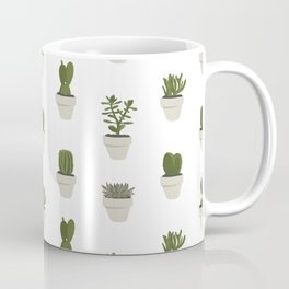 Cacti & Succulents - White Coffee Mug