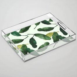 banana leaves Acrylic Tray