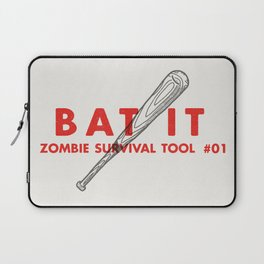 Bat it - Zombie Survival Tools Laptop Sleeve