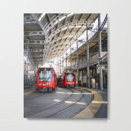 San Diego Metro Station Metal Print