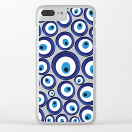Turkish Amulet Clear iPhone Case