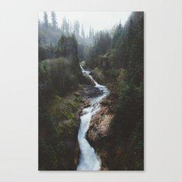 Lava Canyon Canvas Print