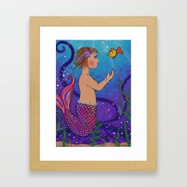 kiera Framed Art Print