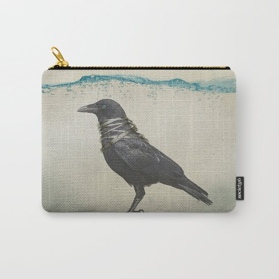 Raven Band Carry-All Pouch