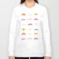 sushi Long Sleeve T-shirts featuring Sushi by Alysha Dawn
