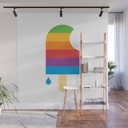 iPop (white) Wall Mural