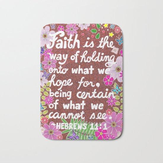 Faith Is Bath Mat