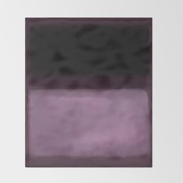 Rothko Inspired #2 Throw Blanket
