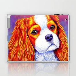 Colorful Cavalier King Charles Spaniel Laptop & iPad Skin