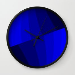 Just Blue #decor #society6 Wall Clock