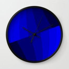 Just Blue #decor #society6 #buyart Wall Clock