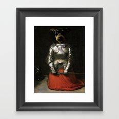 Joan of Bark Framed Art Print