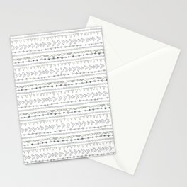 Winter Abstracts 13 Stationery Cards