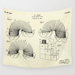 Toy and Process of Use-1947 Wall Tapestry