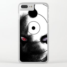 Uchiha Clan Mask Clear iPhone Case