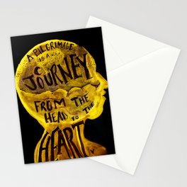 Pilgrimage is a Journey Stationery Cards