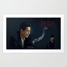 Brother - Aniki Art Print