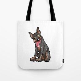 German Pinscher Dog Puppy Doggie Gift Present Tote Bag