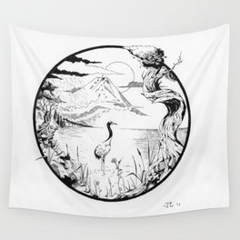 The Crane Wall Tapestry