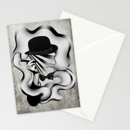 gentle smoke Stationery Cards