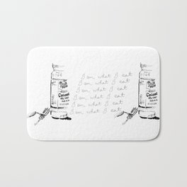 I Am What I Eat - Coconut Oil Bath Mat