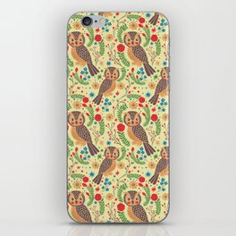 The Vintage Horned Owl iPhone Skin