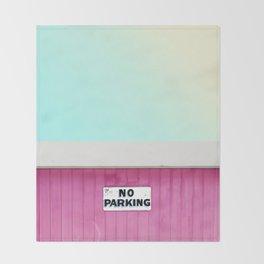 No Parking Throw Blanket